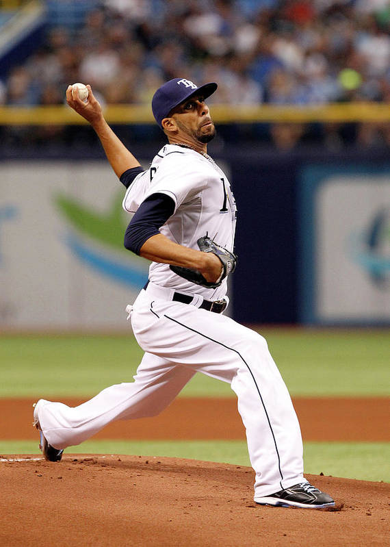 David Price Art Print featuring the photograph David Price by Brian Blanco