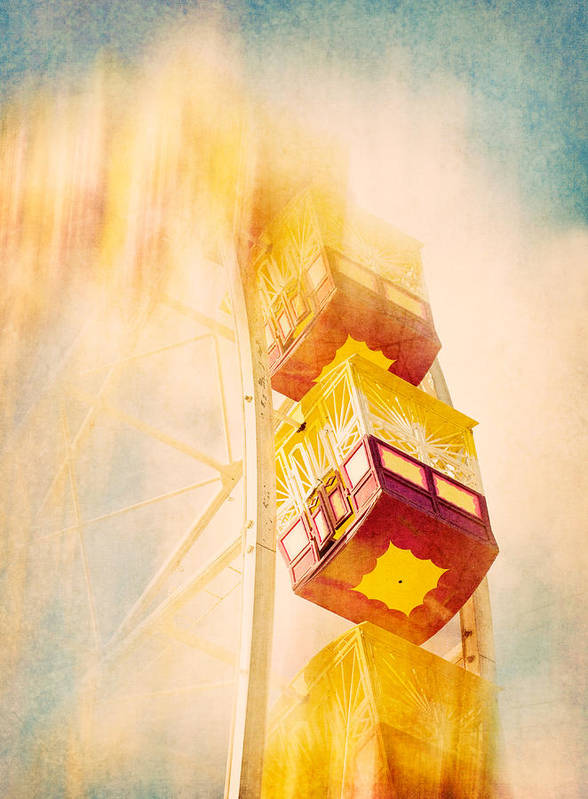 Ferris Wheel Art Print featuring the photograph Summer Dreams by Amy Weiss