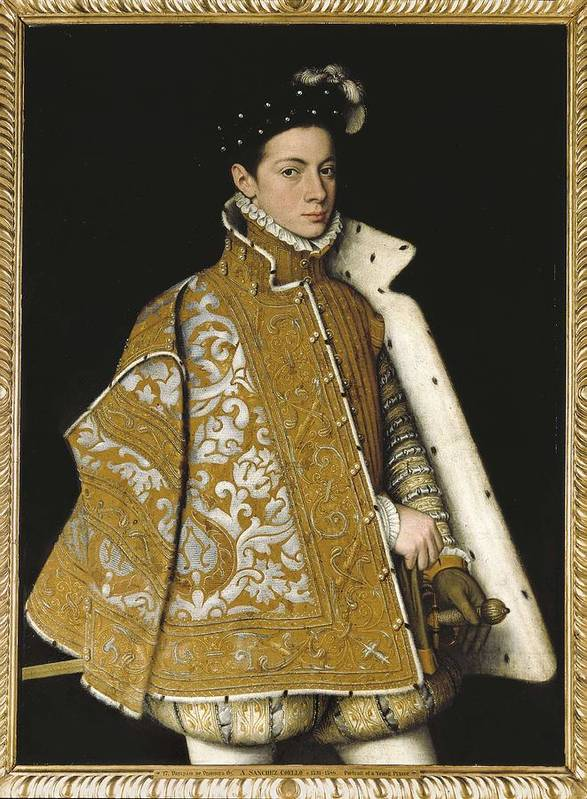 Vertical Art Print featuring the photograph Sanchez Coello, Alonso 1531-1588 by Everett