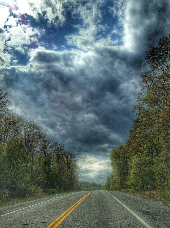 Road Art Print featuring the photograph Furnace Branch Road by Toni Martsoukos