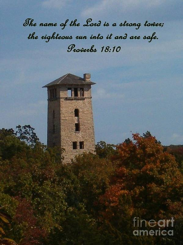 Water Tower Art Print featuring the photograph Inspirations 5 by Sara Raber