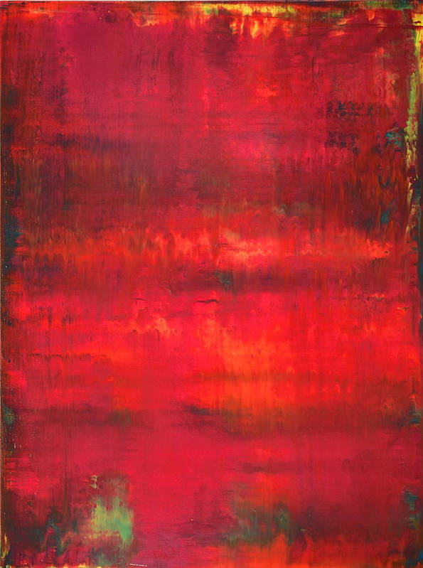 Abstract Art Print featuring the painting No. 34 - Sold by John Monson
