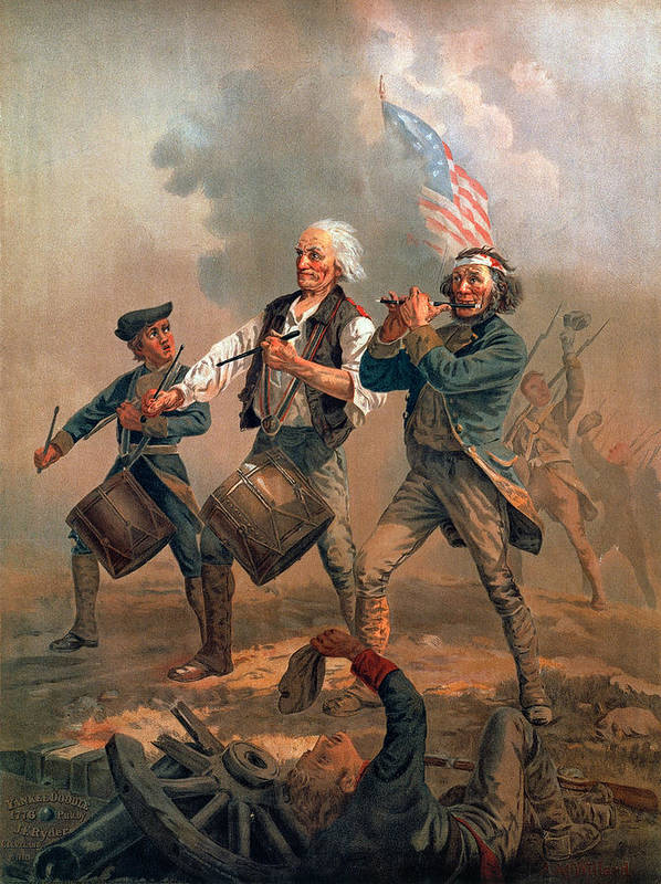 1776 Art Print featuring the photograph The Spirit Of 76 by Granger