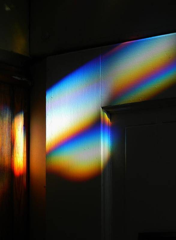 Through The Prism Art Print featuring the photograph Through The Prism by Warren Thompson