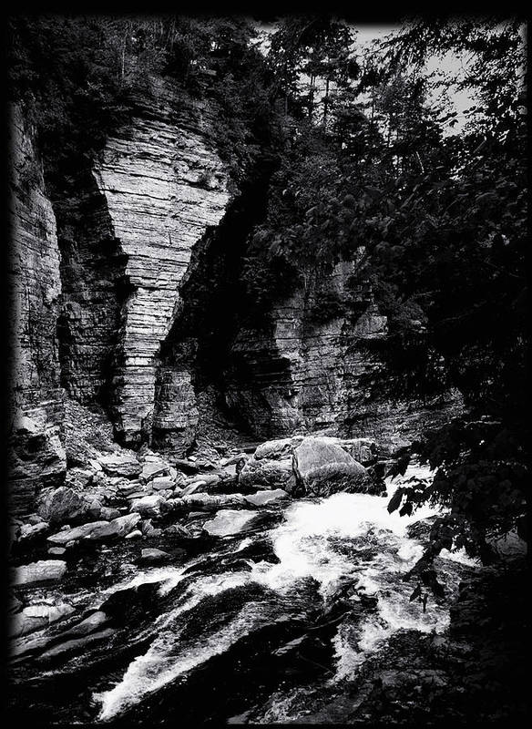 Water Art Print featuring the photograph Ausable by Karl Voss