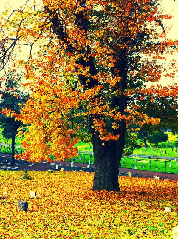 Autumn Art Print featuring the photograph Fall by Priscilla De Mesa