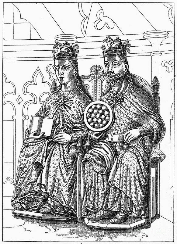 10th Century Art Print featuring the photograph Otto I (912-973) by Granger