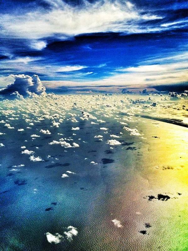 Sky Art Print featuring the photograph Beyond My World by Jayde Ireland
