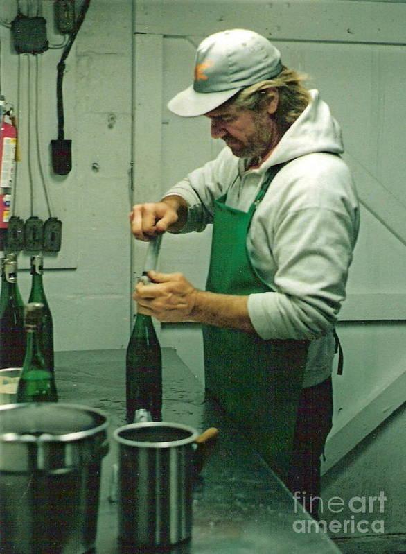 Champagne Methode Champenois Art Print featuring the photograph Champagne Methode Champenois by Padre Art