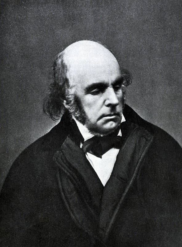 Edward Fitzgerald Art Print featuring the photograph Edward Fitzgerald, English Writer by Humanities And Social Sciences Librarynew York Public Library