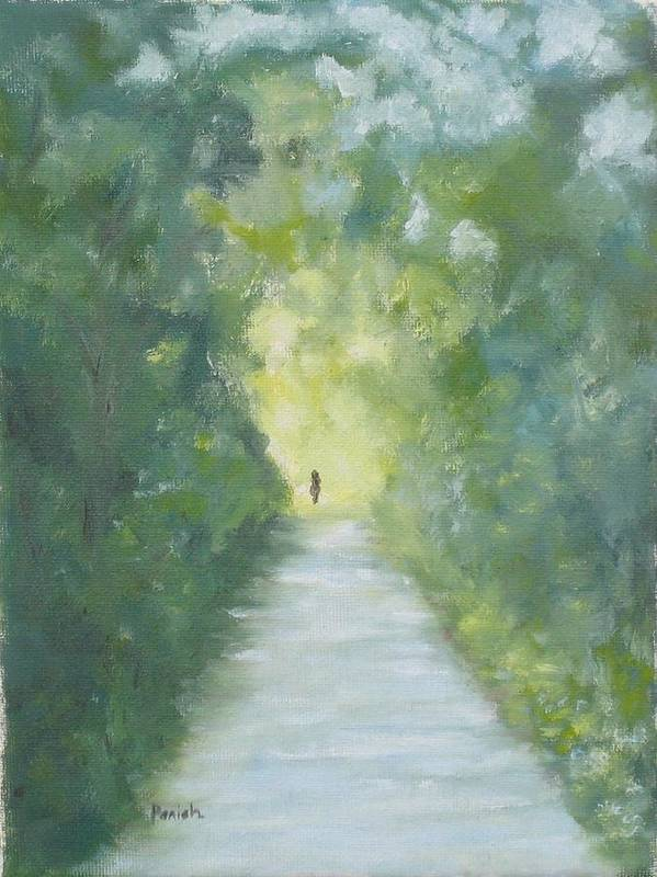 Deutchland Art Print featuring the painting Just Another Road To Somewhere by Paintings by Parish