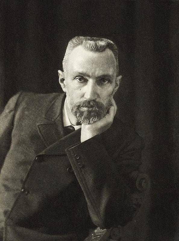 Winner Art Print featuring the photograph Pierre Curie, French Physicist by Science, Industry & Business Librarynew York Public Library