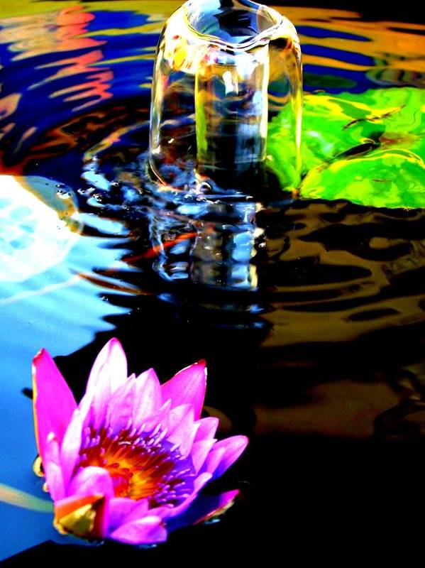 Water Art Print featuring the photograph Reflections II by Shawna Gibson