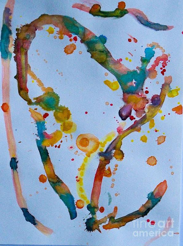 Art Print featuring the mixed media Summer Breeze by Bill Davis