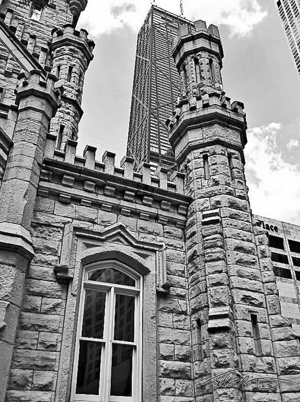 Chicago Art Print featuring the photograph The Tower by Todd Reinert