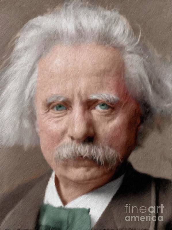 Edvard Grieg Art Fine Art America
