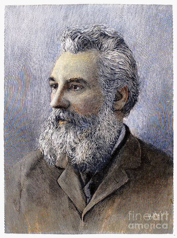 1896 Art Print featuring the photograph Alexander Graham Bell by Granger