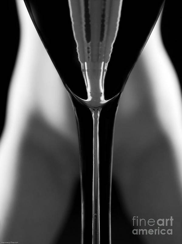 Female Nude Art Print featuring the photograph Abstract Realities IIi by John Hermann