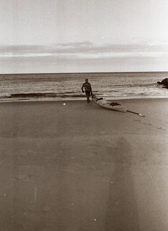 Photography Art Print featuring the photograph Beach 2 by Linnea Tober