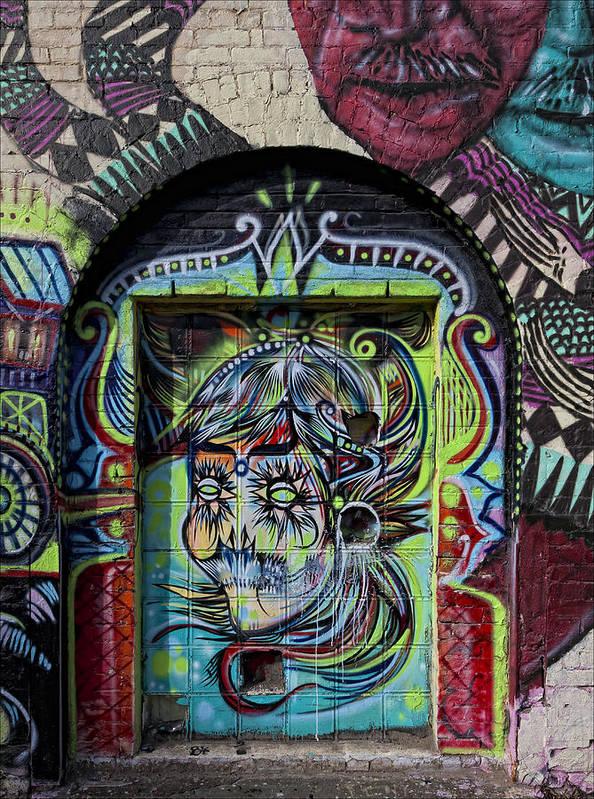 Doorway Art Print featuring the photograph Doorway Wiiliamsburg Brooklyn by Robert Ullmann