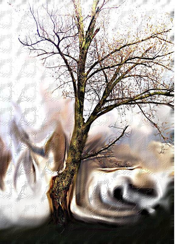Landscape Art Print featuring the digital art Everlasting by Crystal Webb