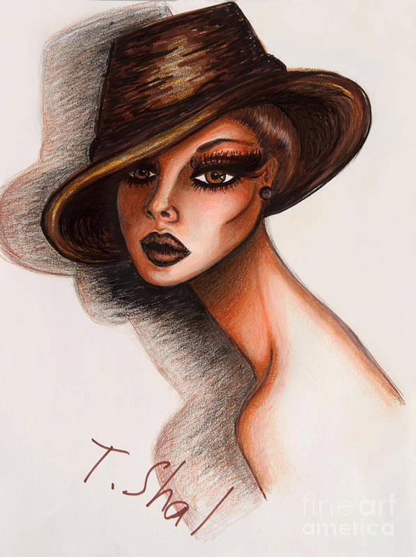 Fashionista Art Print by Tara Shalton