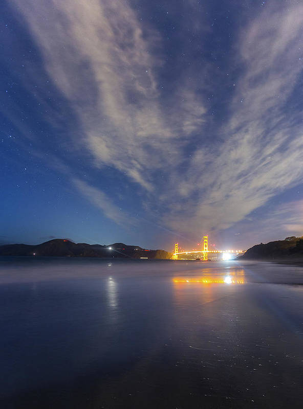 California Art Print featuring the photograph Golden Gate by Larry Mcmillian