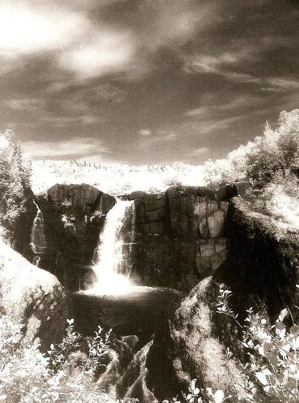 Photograph Art Print featuring the photograph Grand Portage Falls by Patricia Bigelow