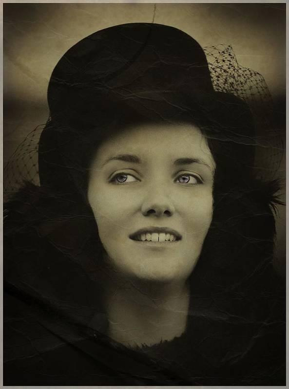Portrait Art Print featuring the photograph Hat Trick by John Fotheringham