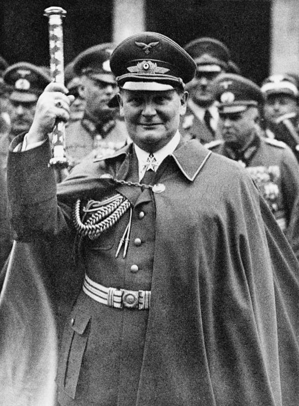 History Art Print featuring the photograph Hermann Goering 1893-1946, Holding by Everett