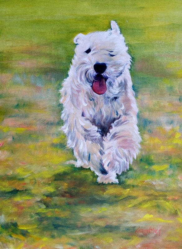 Hogan Art Print featuring the painting Hogan by Kathy Harker-Fiander