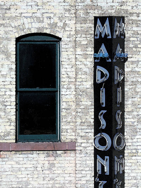 Modern Art Print featuring the photograph Madison by Gary Everson