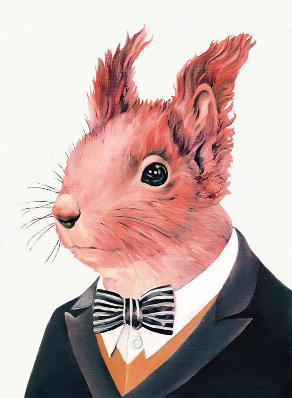 Squirrel Paintings Fine Art America