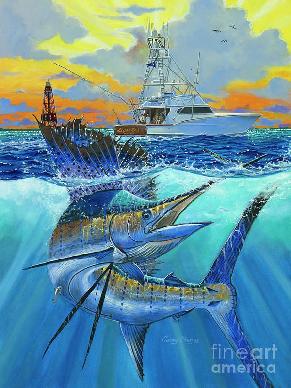 Offshore Fishing Paintings Fine Art America