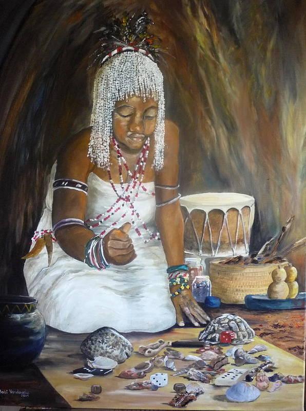 Sangoma Art Print
