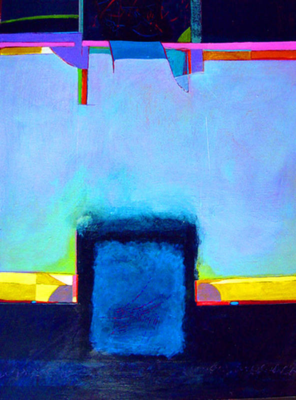 Art Print featuring the painting Softened Boundaries by Dale Witherow