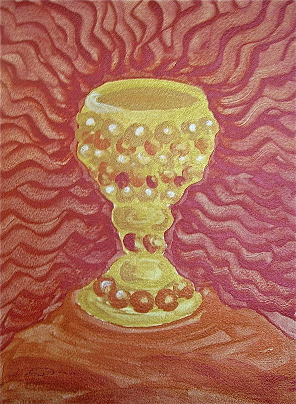 The Chalice or Holy Grail by Michele Myers