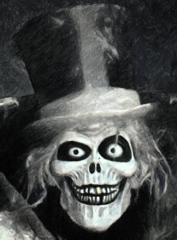The Hatbox Ghost Art Print By Zapista Zapista