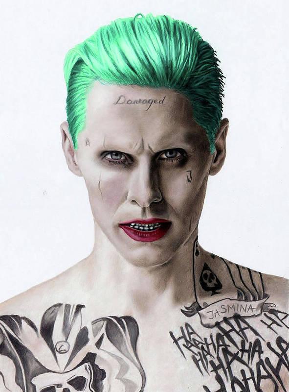 acefbbbe67b The Joker Fanart Art Print by Jasmina Susak