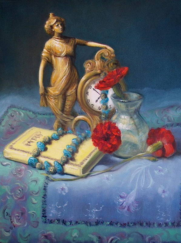 Realism Art Print featuring the painting Timekeeper by Donelli DiMaria
