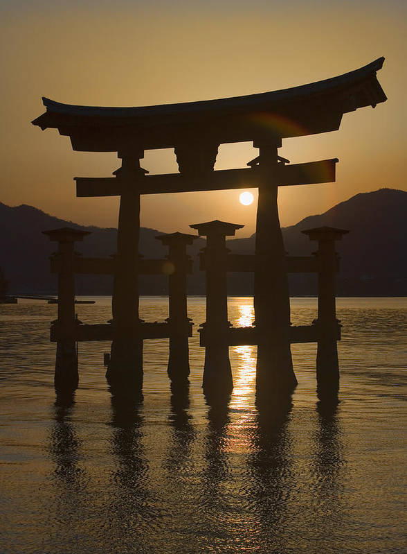Torii Art Print featuring the photograph Torii by Karen Walzer