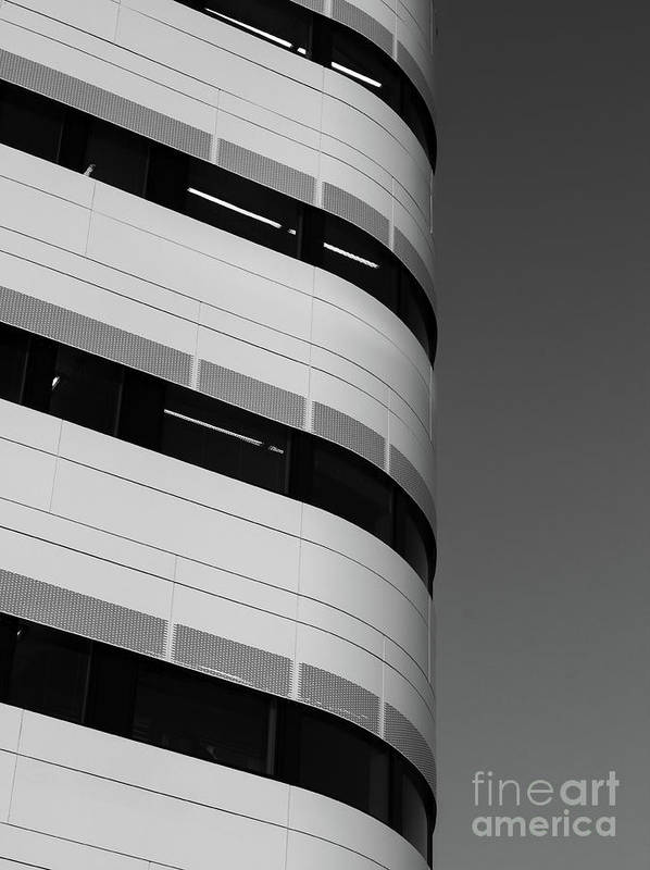 Architecture Art Print featuring the photograph Upright by Tapio Koivula