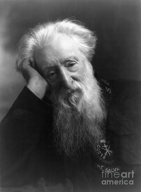 1907 Print featuring the photograph William Booth (1829-1912) by Granger