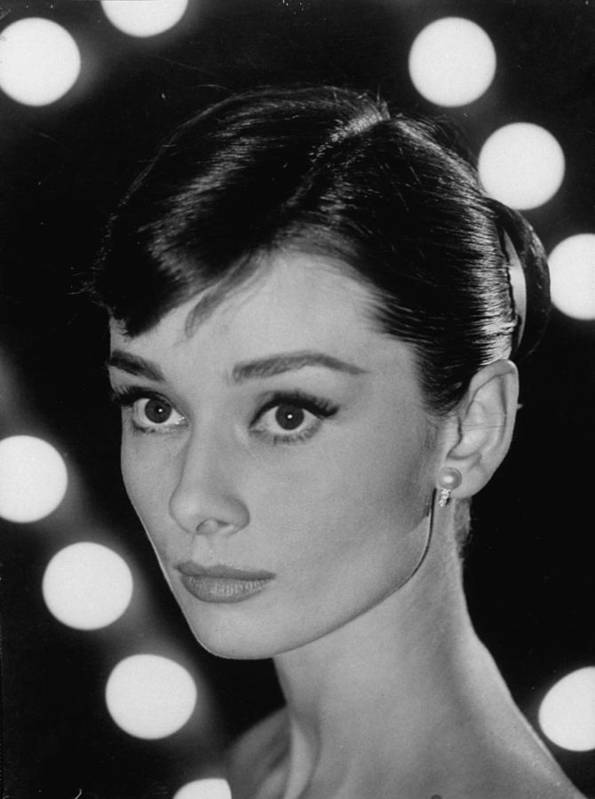Timeincown Art Print featuring the photograph Audrey Hepburn by Allan Grant