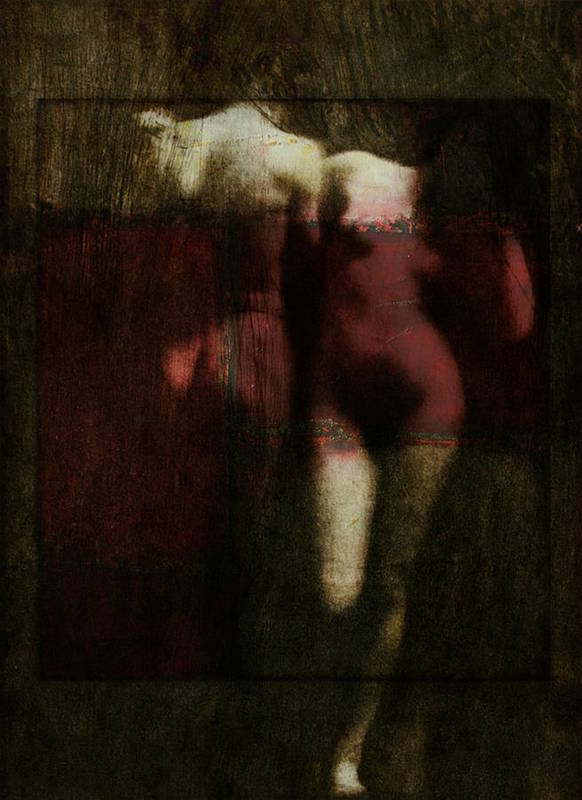 Nude Art Print featuring the digital art Say Hello Wave Goodbye by Paul Lovering