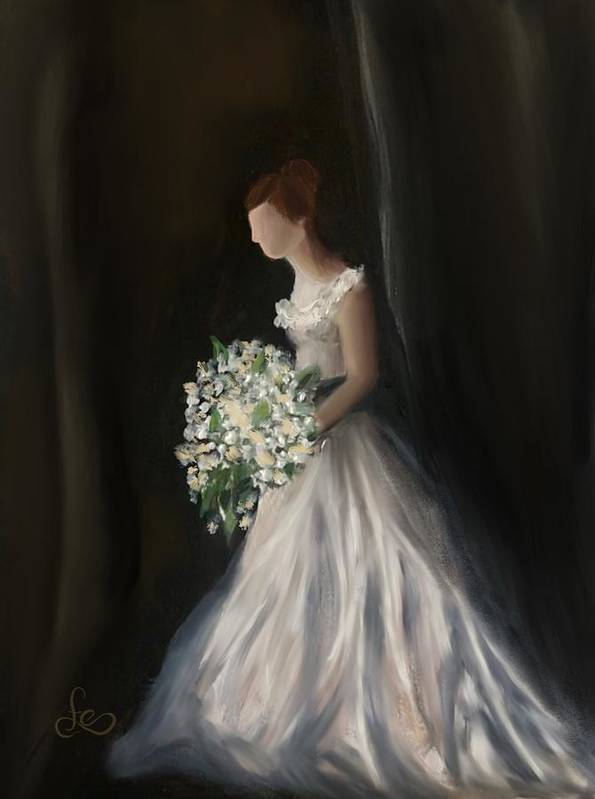 Art Print featuring the painting The Big Day by Fe Jones