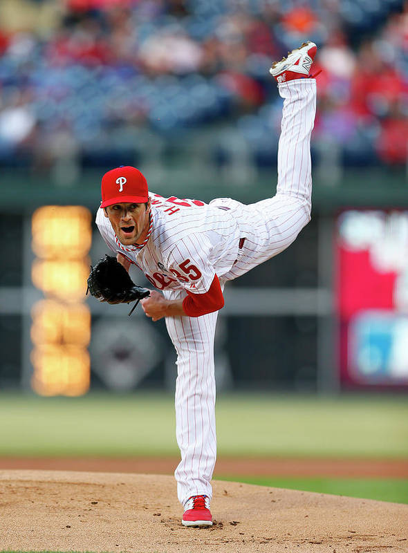 People Art Print featuring the photograph Cole Hamels by Rich Schultz