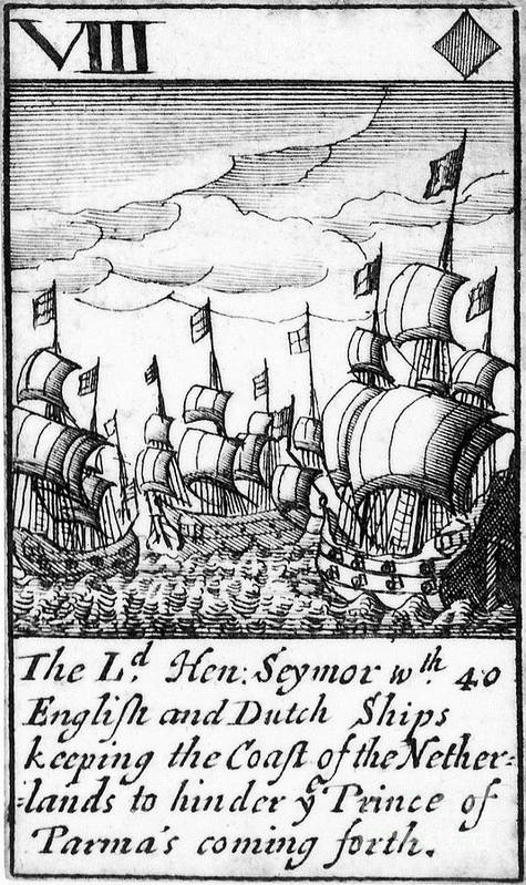 1588 Art Print featuring the photograph Spanish Armada, 1588 by Granger