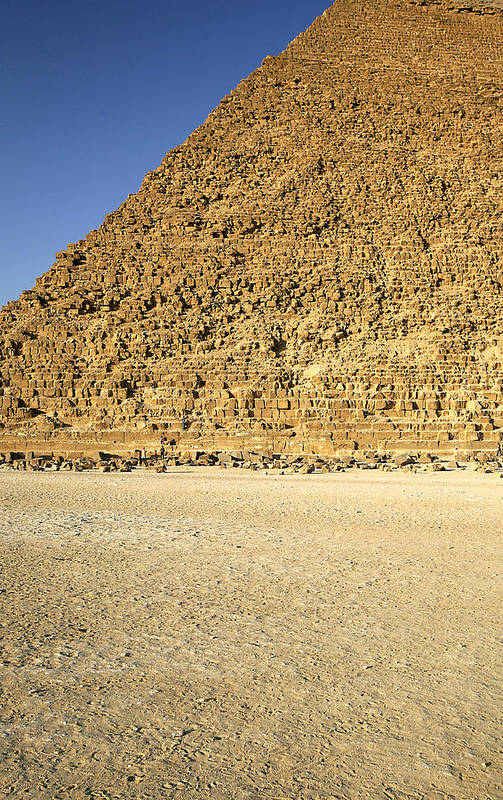 Pyramid Art Print featuring the photograph pyramid of Giza by Marcus Best