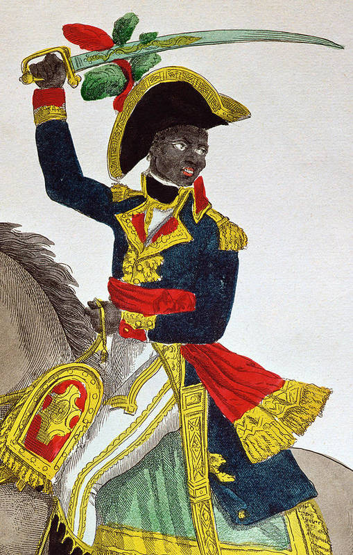 Toussaint Louverture Art Print by French School